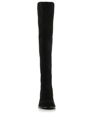 Reserve high suede and fabric boots STUART WEITZMAN