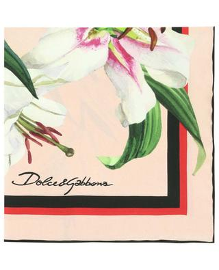 Lily floral silk square DOLCE & GABBANA