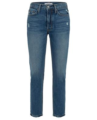 Used-Look-Skinny-Fit-Jeans Petite Karolina Close to You GRLFRND
