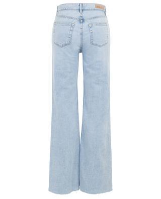 Carla Keep Talking flared distressed jeans GRLFRND