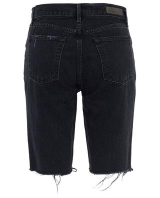 Beverly Deep End denim skinny fit Bermuda shorts GRLFRND