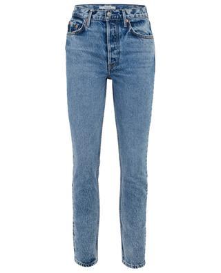 Karolina distressed high-rise skinny fit jeans GRLFRND