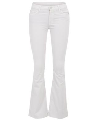 The Weekender Fray Hopscotch Chalk corduroy trousers MOTHER