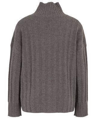 Pullover aus Kaschmir mit Stehkragen und Taschen FTC CASHMERE