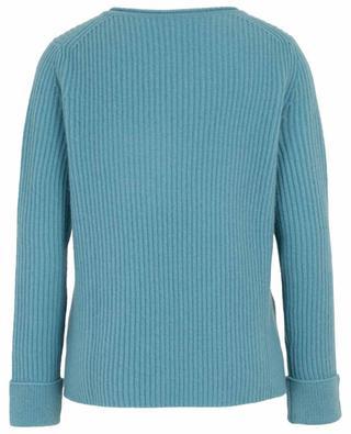 Cashmere V-neck rib knit jumper FTC CASHMERE