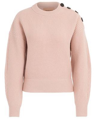 Rib knit cashmere jumper YVES SALOMON