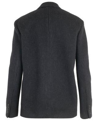 Gestreifter Oversize-Blazer aus Wolle und Kaschmir SAINT LAURENT PARIS