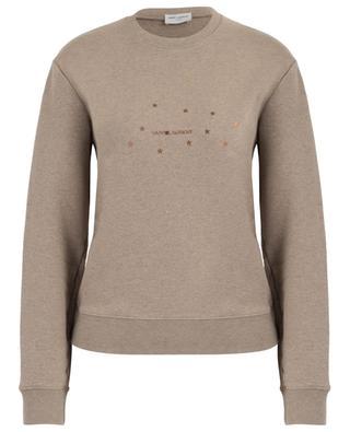 Sweat-shirt imprimé étoiles Saint Laurent SAINT LAURENT PARIS