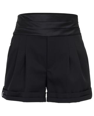 Short avec taille en satin Tuxedo SAINT LAURENT PARIS