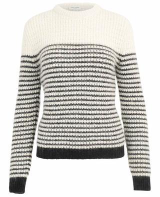 Gestreifter Pullover aus Wollmischgewebe SAINT LAURENT PARIS