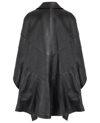 Moto spirit leather cape SAINT LAURENT PARIS