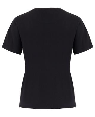 T-shirt en jersey côtelé Saint Laurent Star SAINT LAURENT PARIS