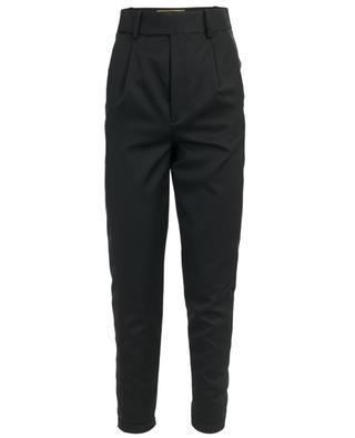 Pantalon smoking taille haute en laine SAINT LAURENT PARIS