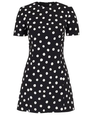 Mini dress with polka dot print SAINT LAURENT PARIS