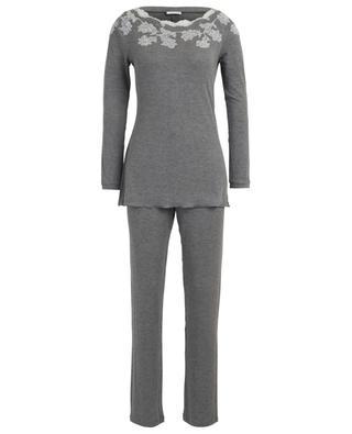 Pyjama côtelé avec dentelle Sugar PALADINI