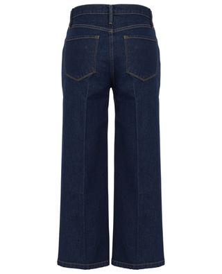 Ali Wide Crop Vintage Rinse dark washed high-rise jeans FRAME