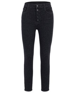Skinny-Fit-Jeans mit Leo-Print Lillie J BRAND