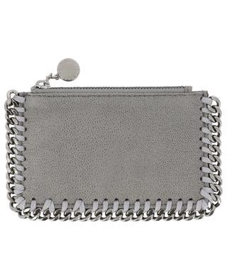 Falabella Shaggy Deer card holder with zippered pocket STELLA MCCARTNEY