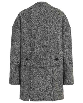 Offener Oversize-Mantel aus Tweed Salt & Pepper STELLA MCCARTNEY