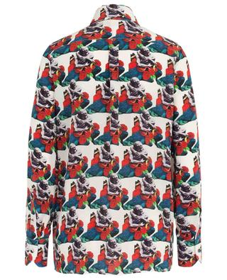 Chemise à lavallière imprimée Lovers Pattern Undercover VALENTINO