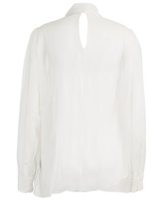 Sheer blouse with necktie VALENTINO