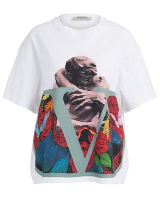 Oversized printed cotton T-shirt VALENTINO