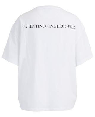 Oversize-T-Shirt aus Baumwolle mit Print VALENTINO