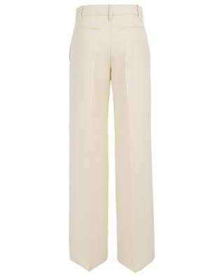 Pantalon large en sergé de laine vierge VALENTINO