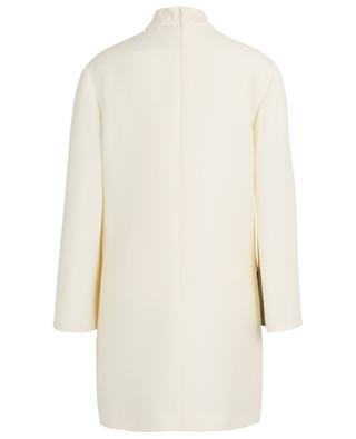 Minikleid aus Couture-Krepp mit Print Undercover Cosmos VALENTINO