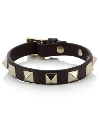 Rockstud leather bracelet VALENTINO