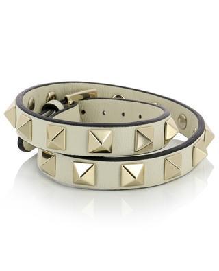 Rockstud leather double-strap bracelet VALENTINO