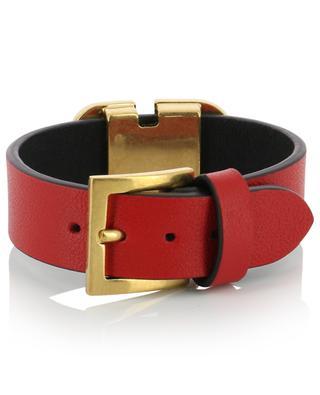 VLogo leather bracelet VALENTINO