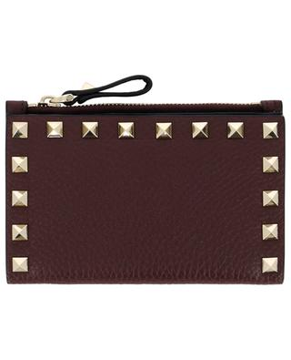 Rockstud coin pouch and card-holder VALENTINO