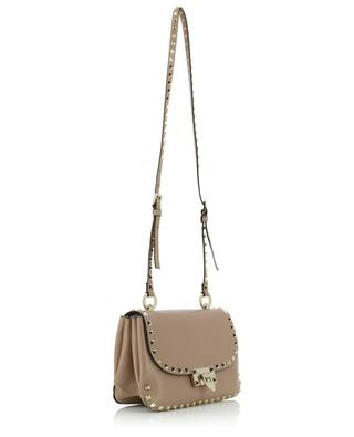 Rockstud Small grained leather cross body bag VALENTINO