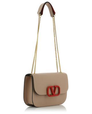 VSLING mini leather shoulder bag with snakeskin detail VALENTINO