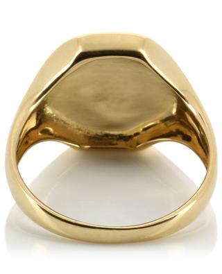 Chevalière Mademoiselle diamond and gold ring GBYG