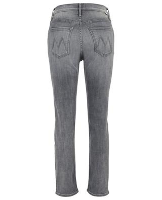 Ausgewaschene Slim-Jeans The Looker Ankle Fray MOTHER
