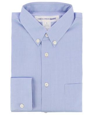 Hemd mit Chevron-Textur Forever COMME DES GARCONS SHIRT