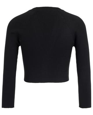 Short cashmere and silk blend cardigan DOLCE & GABBANA