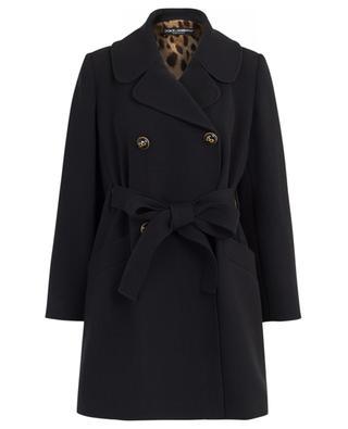 Mantel aus Wollmischgewebe DOLCE & GABBANA