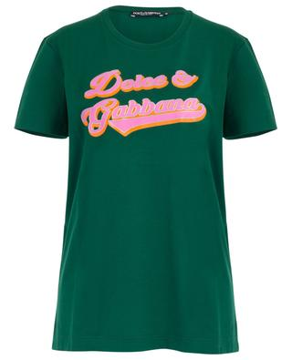 Vintage logo print straight T-shirt DOLCE & GABBANA