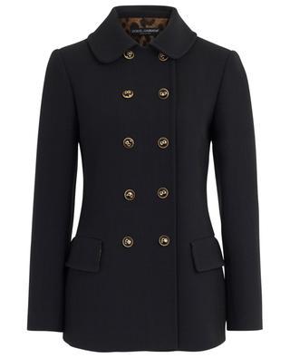 Wool blend pea coat DOLCE & GABBANA