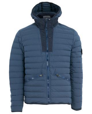 Loom Woven Down Chambers Stretch Nylon-TC Down jacket STONE ISLAND