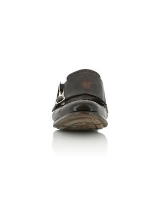Chaussures en toile et cuir vieilli Shanghai CHURCH