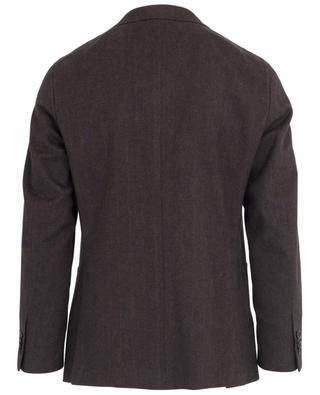 Chevron pattern cotton blazer CARUSO