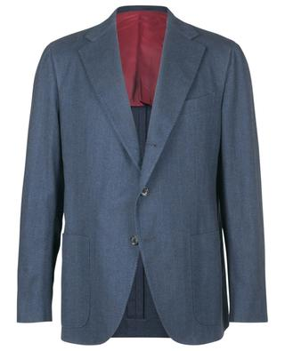 Single-breasted cotton blazer CARUSO