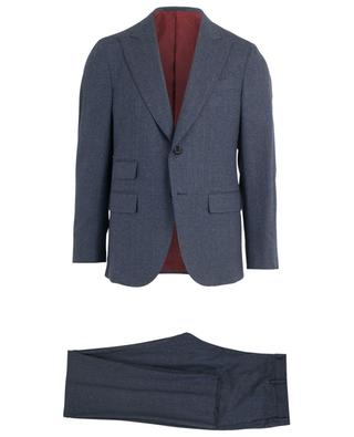Aida wool and silk striped suit CARUSO