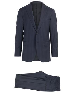Boheme striped wool suit CARUSO