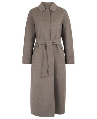Dora long virgin wool blend coat 'S MAXMARA