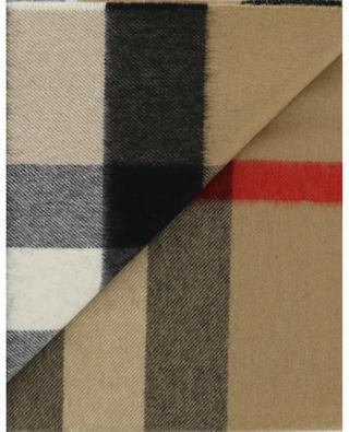 Mega Check cashmere scarf BURBERRY